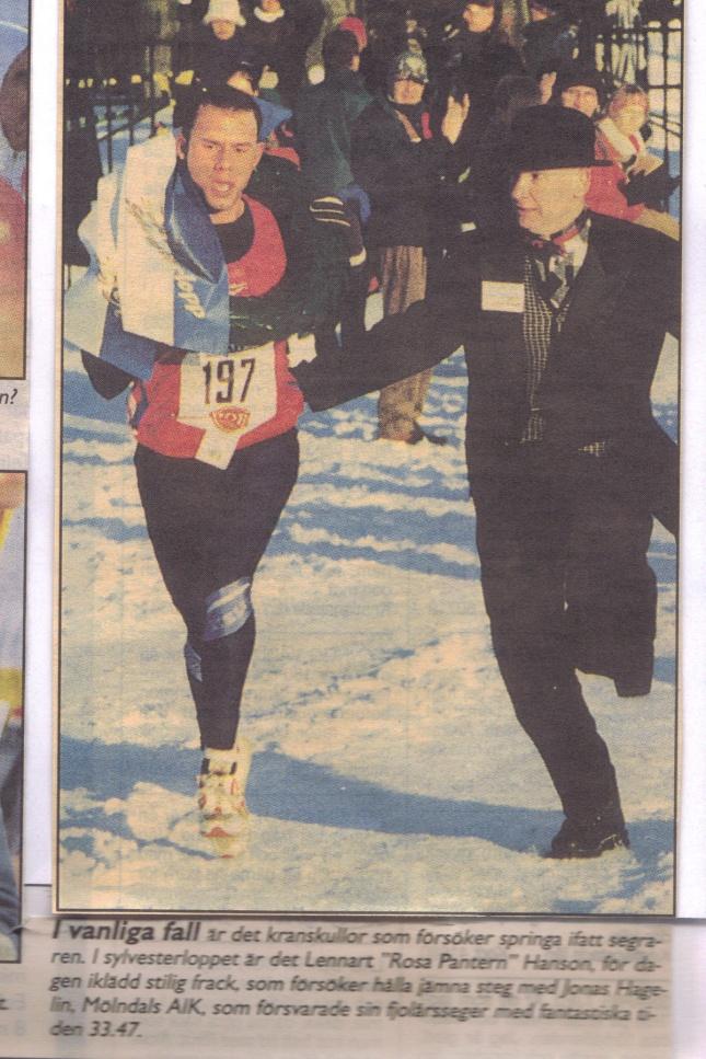 Sylvsterloppets herrsegrare 1997 ur GT.