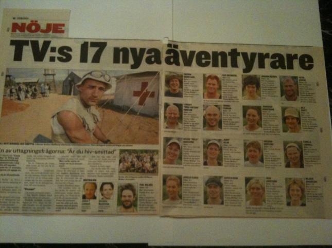 !7 nya äventyrare ur Expressen/GT