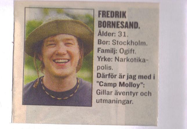 Camp Molloy Fredrik ur Expressen.