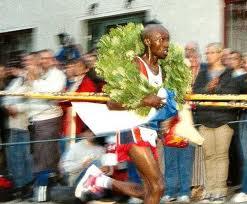 Martin Ojuku vann igen, denna gång Trosa stadslopp från internet.