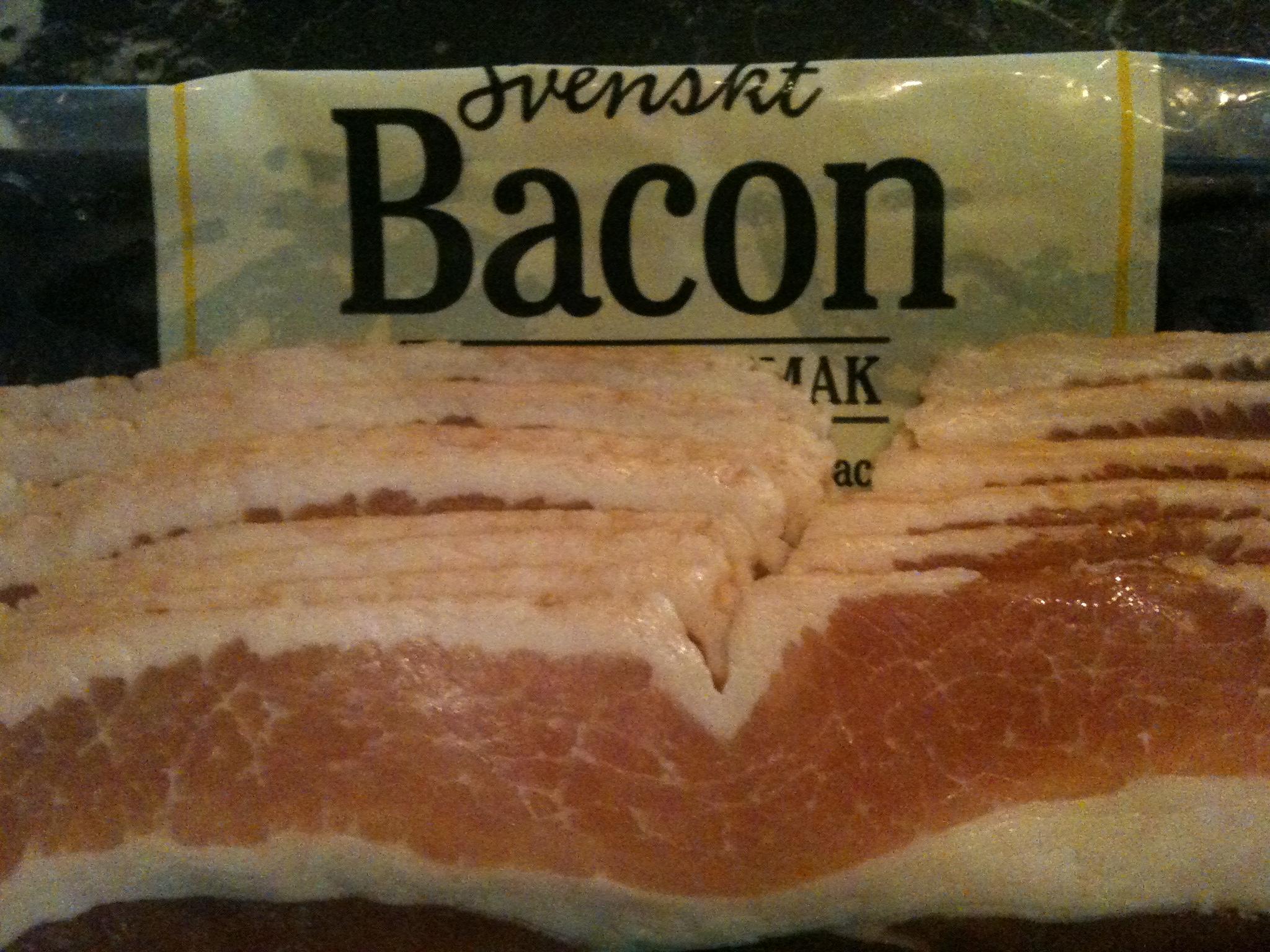Bacon är bra fett!