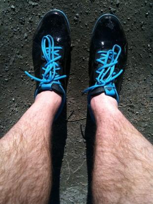 Dessa skor sprang igår i Hallaryd!