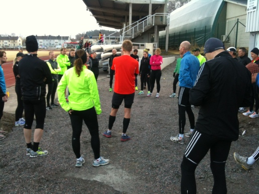 GöteborgsVarvets löparkväll i Kungsbacka.