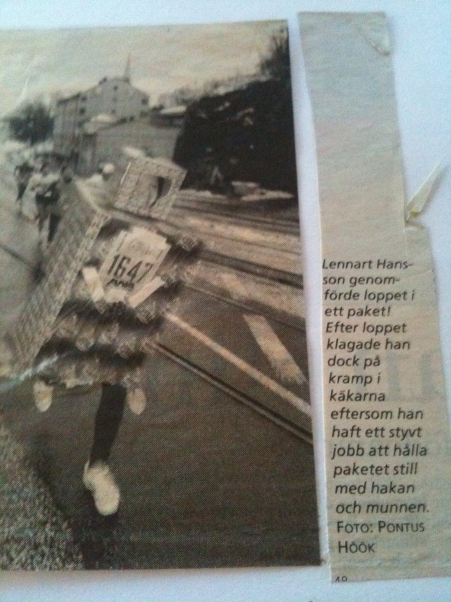 Göteborgs Sylvesterlopp ur Göteborgs Posten.