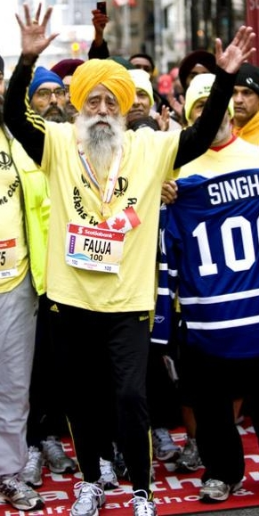Fauja Singh, 101 år, har sagt att han ska lägga av!
