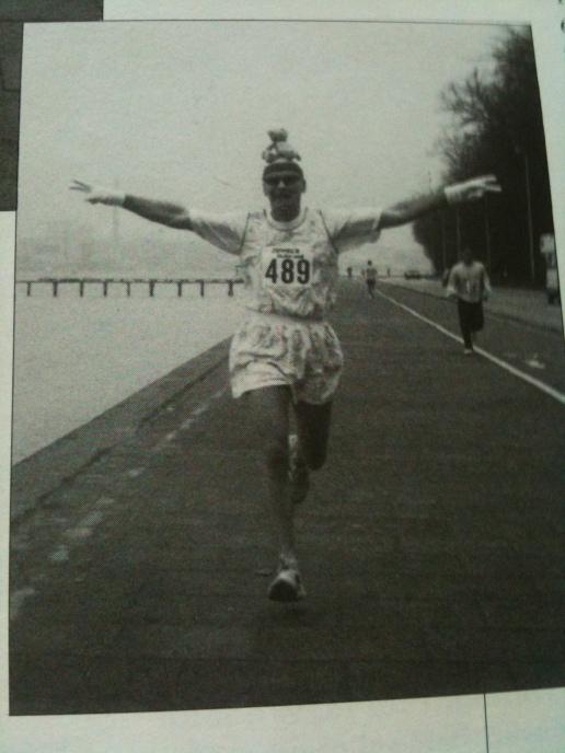 Kiel Marathon i mitten på 90-talet.
