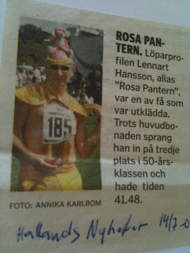 Antagligen tävling i Varberg!
