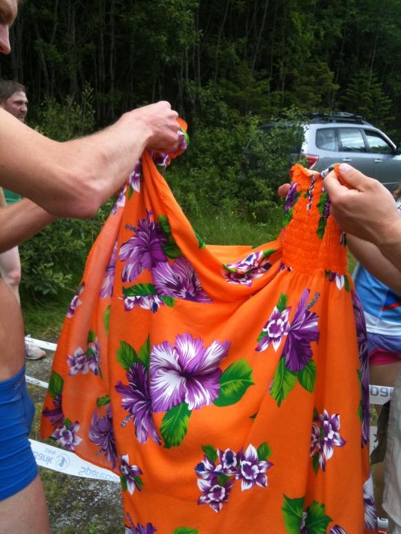 Växlingsklänning dag tre i St Olavsloppet