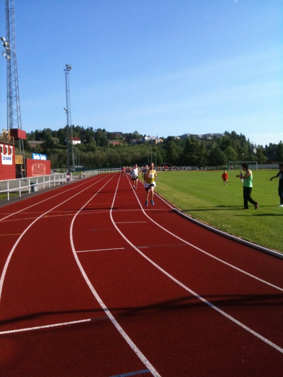 Starten i Levanger, tredje dagen i St Olavsloppet