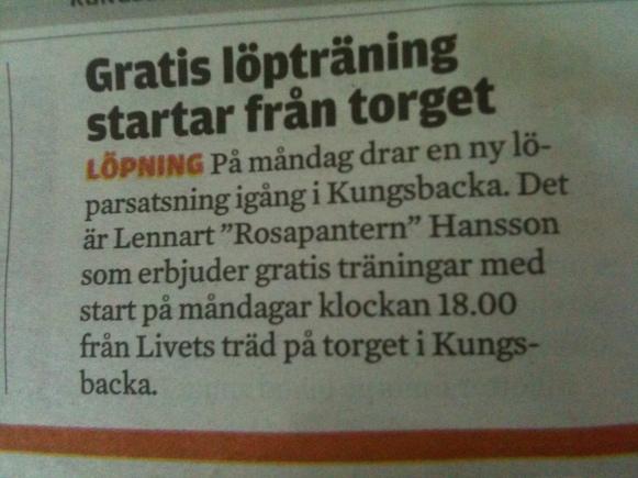 Ur Kungsbacka Posten