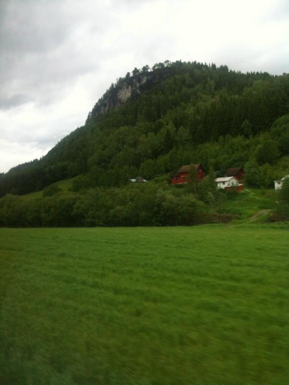I Norge finns det rejäla backar .....