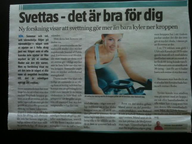 Lite revolutionerande nyheter!