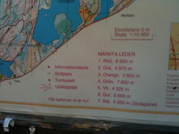 Kartan som mötte oss