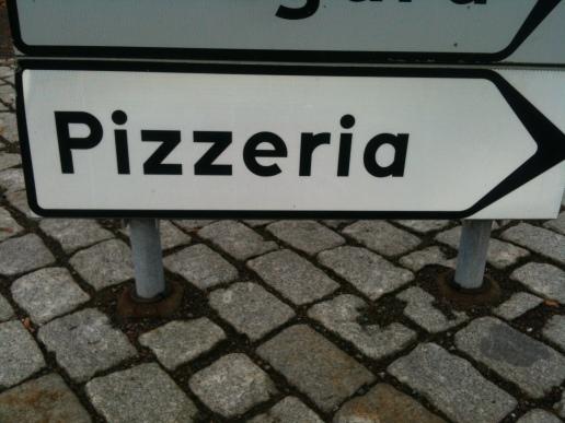 Pizza är viktigt -