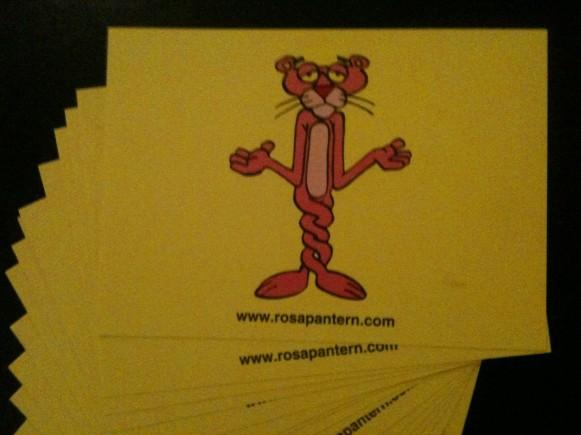 Många vykort -