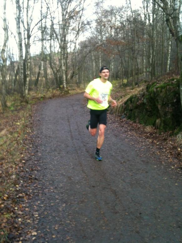 Hans Tisell springer Finalloppet innan ......