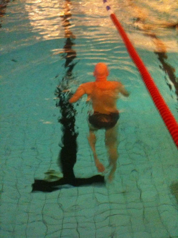 Springa i vatten (foto Caroline) -