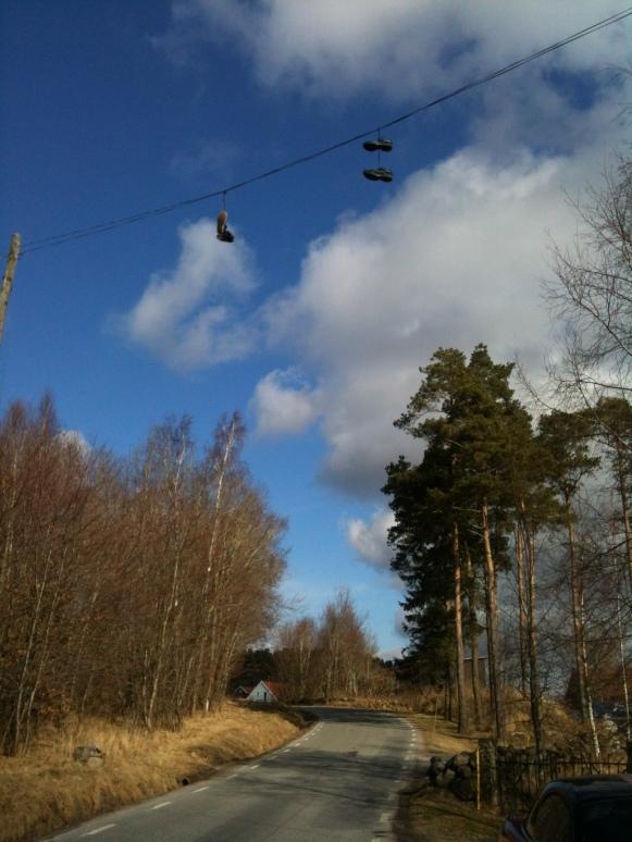Skorna ska vara på fötterna när du motionerar