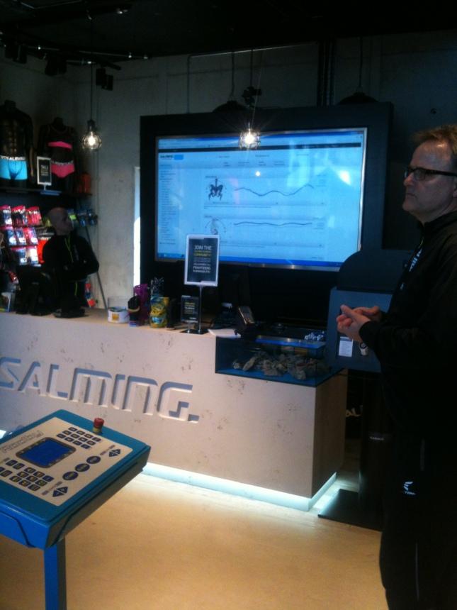 RunLAB presenterar löpanalysen för Patrik!