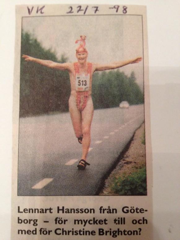 Maraton i Vindelälvsloppet, Västerbottens Kuriren,