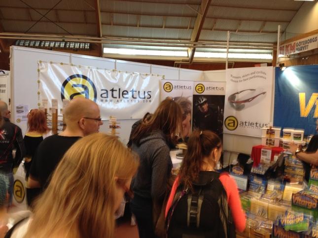 Sportmässan med höjdar Atletus sportglasögon!