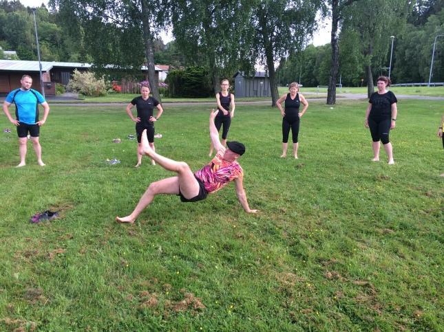 Mer rörlighets övningar för att undvika ensidig löpträning!