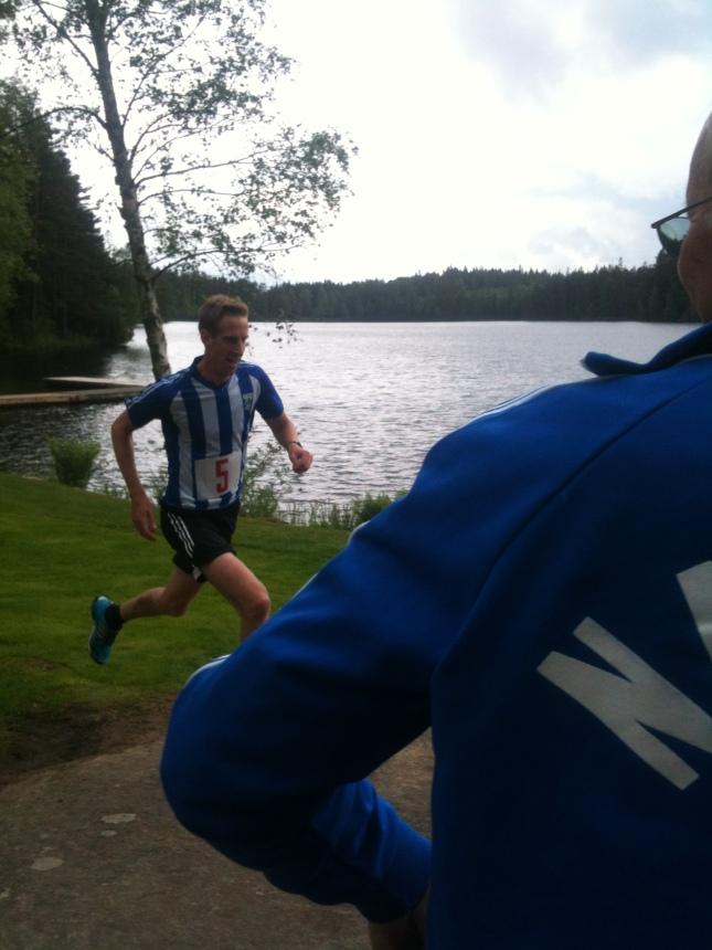 Marcus Johansson måste sprungit fort sista varvet!