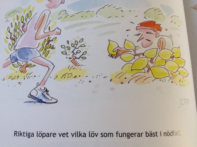 Ur boken Löpare - ett släkte för sig