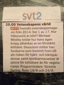 Gårdagens TV-tablå!