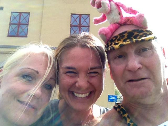 Idel glada miner på Jubileumsloppet i Göteborg!