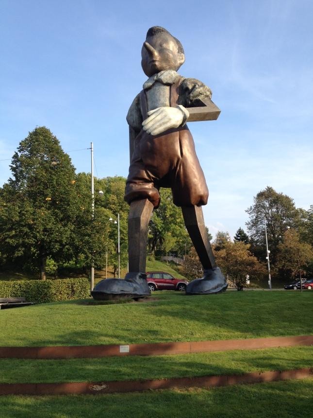 Fräckast i Borås? Pinocchio var tyvärr inte längst banan!
