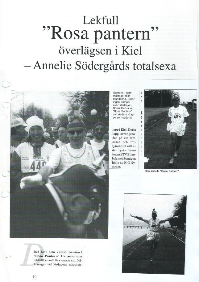 Kiel Marathon ur Maratonlöparen -95?
