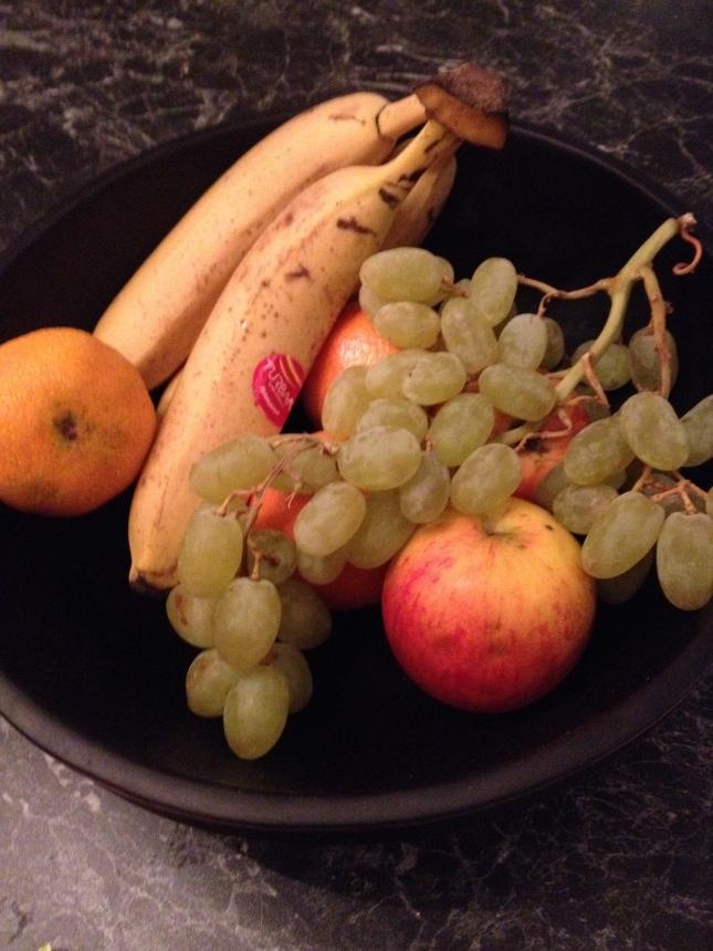 och så lite grönsaker!