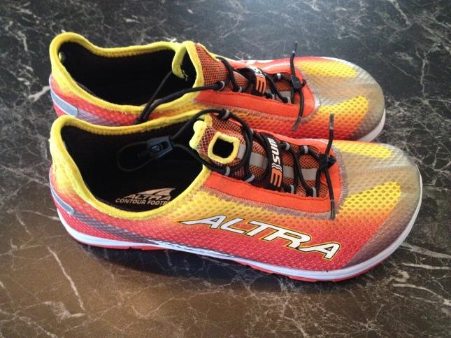 ALTRA 3-Sum fantastisk skön att springa i!