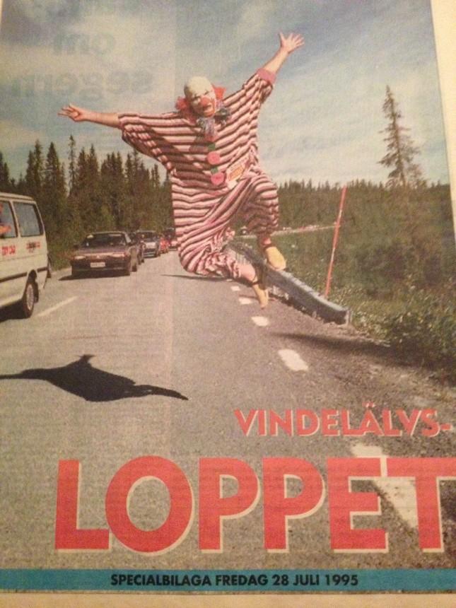 Det här var kul från Västerbottens Kuriren!