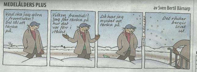 Helt sant - men framtiden  först! ur Göteborgs Posten idag.