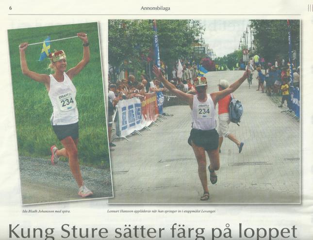 Information från St Olavsloppet!