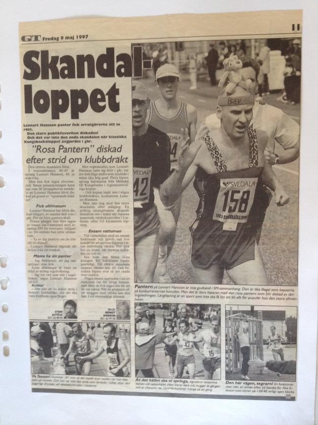 Kungsbacka loppet 1997 ur GT!