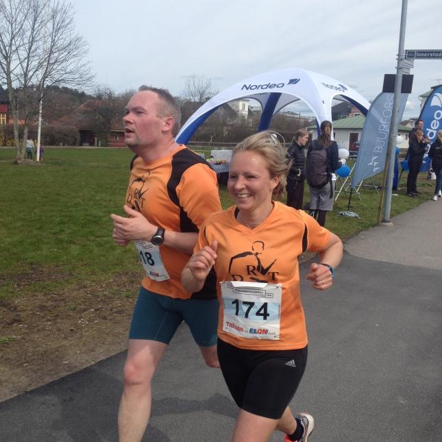 Snabb bana! Både Andreas och Camilla satte personrekord!