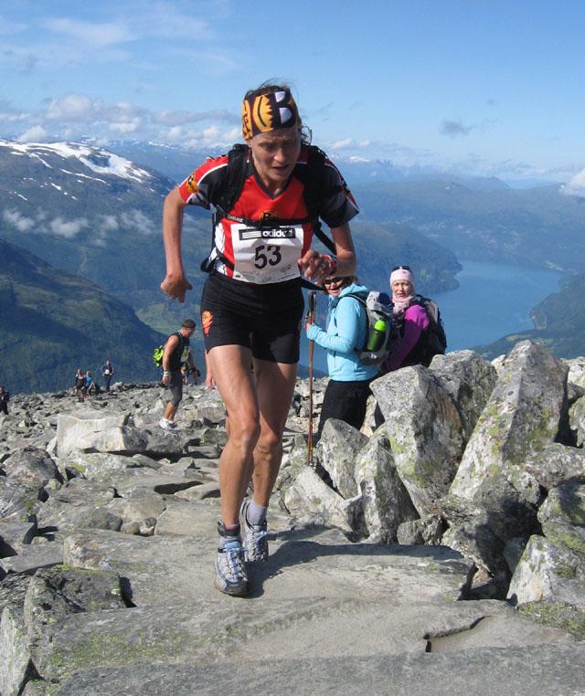 Sämre i uppförsbacke men Världsmästare i Fjälllöpning, Anita Håkenstad! Från Kondis.