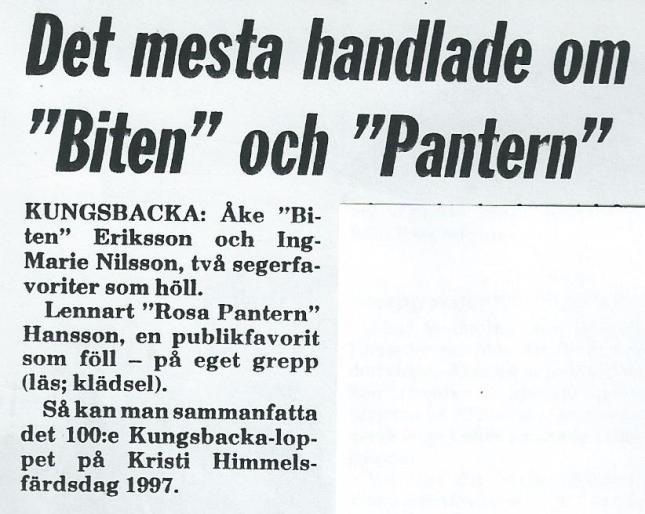 Ur Kungsbacka Tidning!