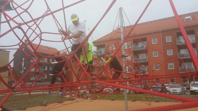 Välkommen att klättra! Foto Camilla.
