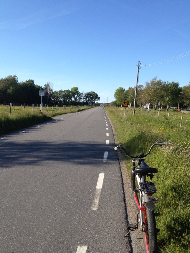 Ska du förflytta dej långt är cykel ett bra transportmedel!