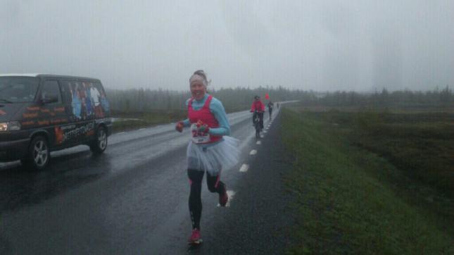 Marianne i Prinssorna är ute i regn och rusk!