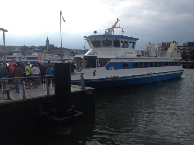 Det bästa med Göteborgs Jubileumslopp är Älvsnabben!