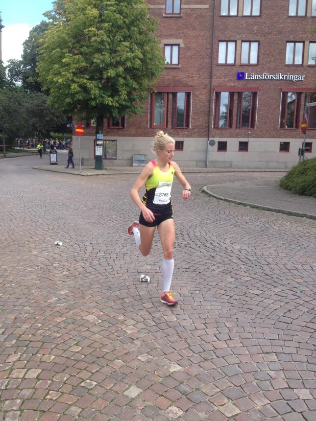 Segraren på fem kilometer Linn Nilsson!