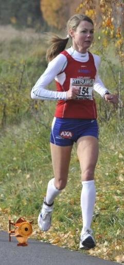 Hon har till och med bytt namn till Marathon!