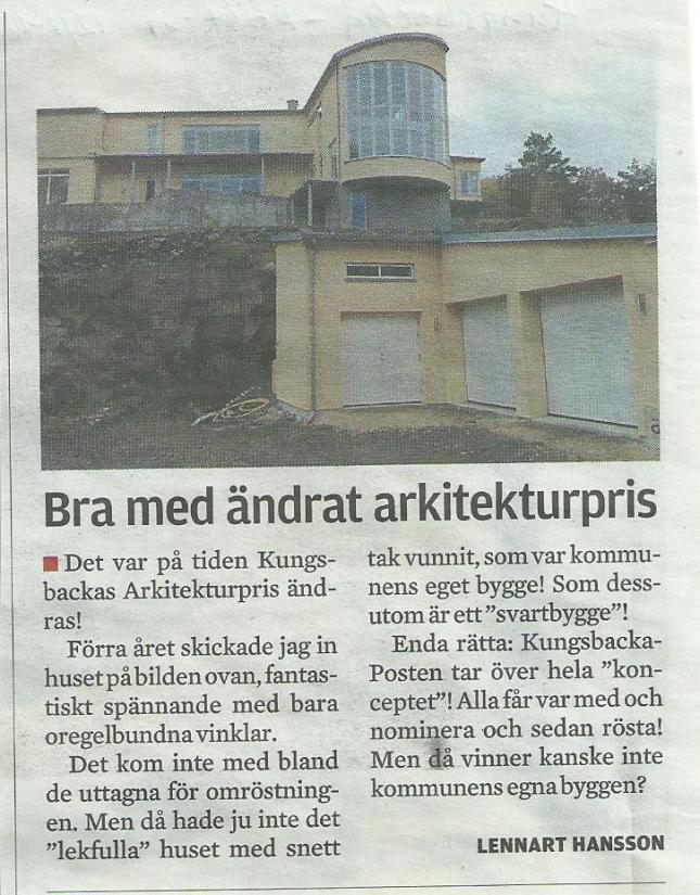 ur Kungsbacka-Posten igår!